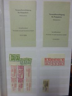 Berlin 1955/1988 - batch in 2 stock books, MNH