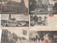 France - Collection of 400 old postcards - 1900 / 1920