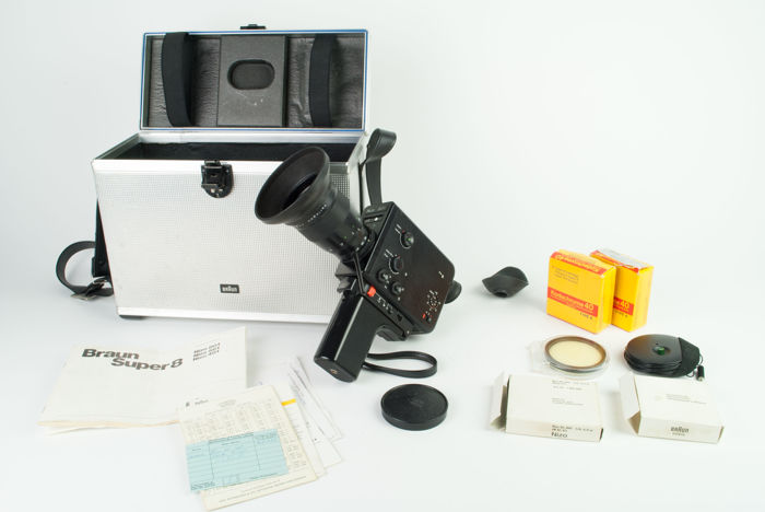 Braun Nizo 801 - complete set for recording Super 8 films