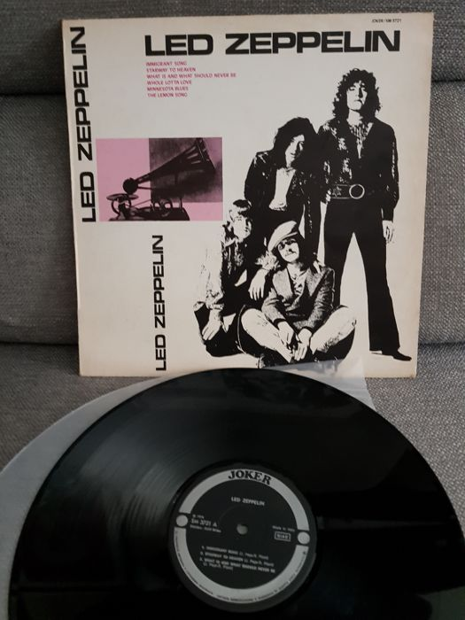 Led Zeppelin - Led Zeppelin LP
