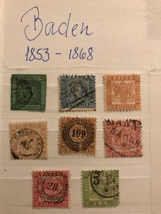 Old Germany 1853/1875 - a small collection