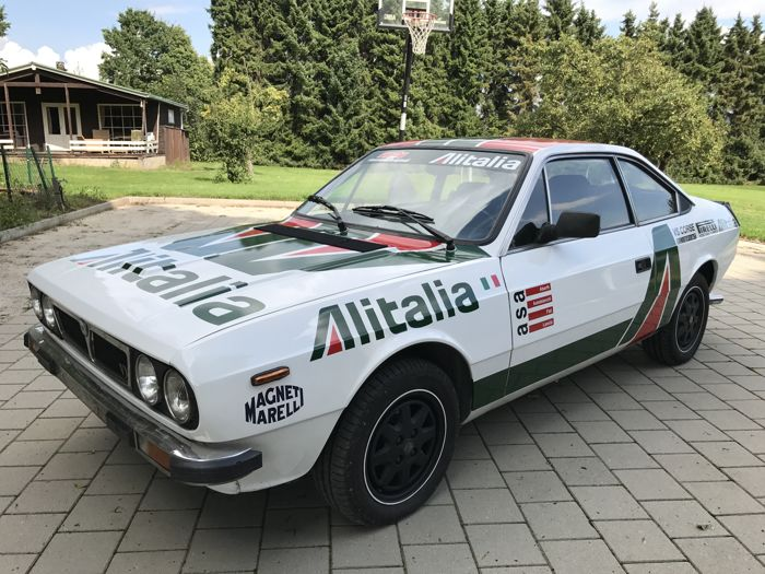 lancia - beta coupé 2000 volumex - alitalia - 1984 - catawiki