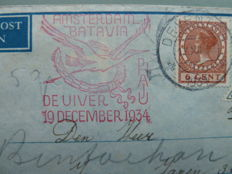 Europe from approx. 1933 - Air mail covers, balloon post and various