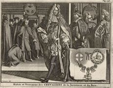 The Most Honourable Order of the Garter & the Bath, Jan Goeree (1670-1731)