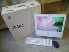 "Apple iMac 17"" (Late 2006) - model A1195 - 1.83Ghz CPU, 2GB RAM, 500GB HDD, DVD-RW Superdrive, keyboard/mouse - in original box"