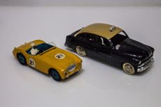 Dinky Toys - Austin Healey 100 Sport #109 - Ford Vedette Taxi #24xt