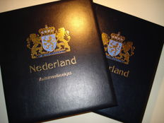 The Netherlands 1964/2001 - Two albums with stamp booklets and combinations