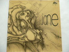 A lot of 7 records from JANE. German progressive rock band formed in Hannover, in 1970.
