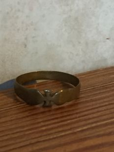 Ring - iron cross - German Reich - copper