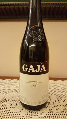 1978, Barbaresco, Gaja - Piedmont - 1 bottle (75cl)