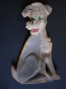 Disney - Hot water bottle in latex - Tramp (The lady and the tramp) ( ca. 1965)