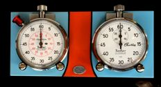 Hanhart - ClassiKnau - stopwatch set for a classic car rally with Hanhart timer stopwatch