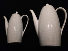 Arzberg, 2025 coffee pot and mocha jug - gold medal Milan Triennial Mailand 1956