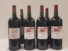 2000 Chateau Dudon - Bordeaux x 4 Magnums & 2015 Chateau Jean Dugay - Graves de Vayres x 2 Magnums : 6 Magnums 150 cl in total