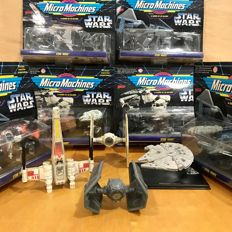 Collection of 22 Star Wars Vintage Vehicles
