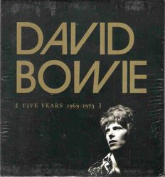 David Bowie: Five Years 1969-1973, Great 10 CD Album (12 CD) Boxset