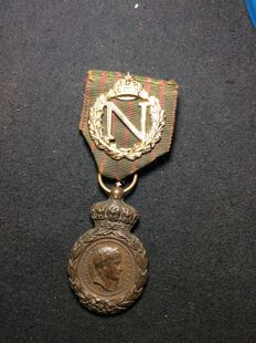 Second French Empire - Sainte Helene medal - Napoléon.