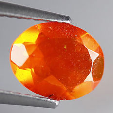 Fire Opal - 0.85 ct - No Reserve Price