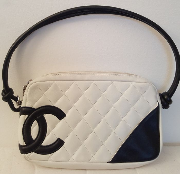 b1055a21d9d6 Chanel - Cambon Quilted Pochette bag  No reserve price  - Catawiki