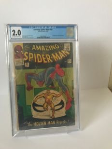 Marvel Comics - Amazing Spider-man #35 CGC Graded 2.0  (4/1966)