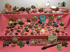 Large collection of turtles - 146 items