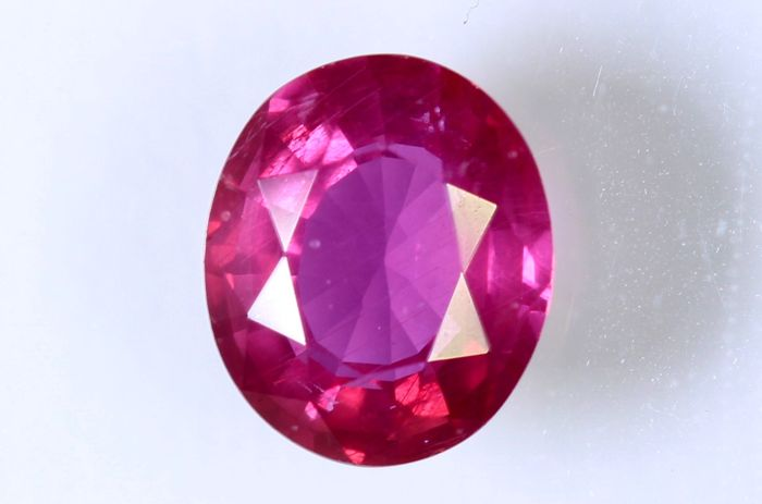 Purplish Red Ruby – 0.72 ct