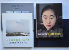 Düsseldorfer Photoschule; Lot with 4 publications - 1995 / 2007