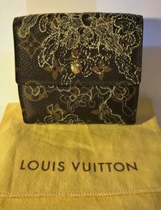 "Louis Vuitton – Wallet/Purse ""Elise"" Limited edition ""Lace"""