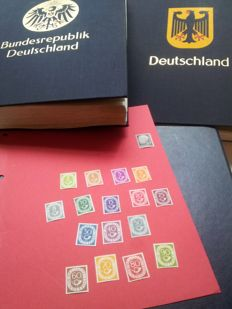 Germany, collected in duplicate, 1946/2006 - With post horn series.