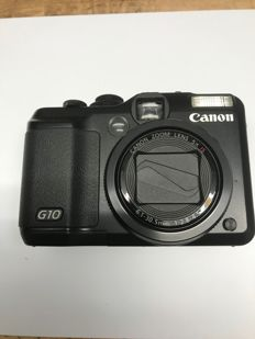 Canon PowerShot G10 Digital camera (14.7 Megapixel, 5 x optical zoom, 7.6 cm (3 inch) display) black