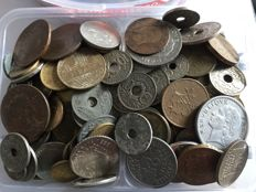 World - Lot of 5kg of coins from various countries