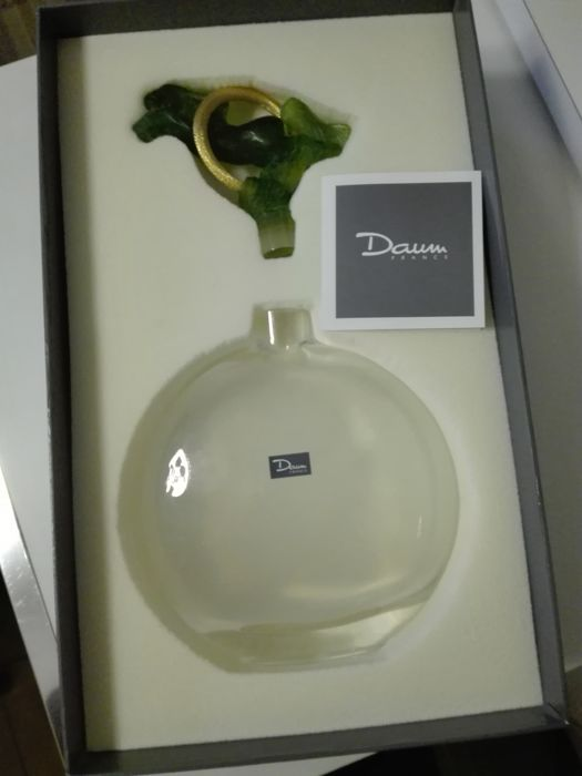Daum - Crystal wine decanter Model Torques