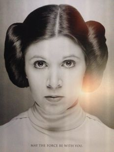 Princess Leia - Poster - Star Wars - Carrie Fisher