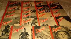 Signal (French edition) - 23 volumes - 1942