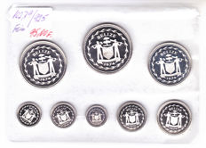 Belize - Proof set 1974