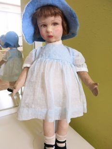 old Raynal fabric doll