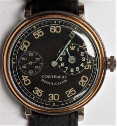 Cortébert - made Swiss - mariage watch - regulateur - 355331 - Uomo - 1901-1949