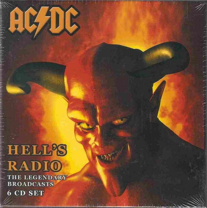 AC/DC - 2 Boxsets - Radio Lucifer  1981-1996 &  Hell's Radio 1974-1979, all together 12 CDs.