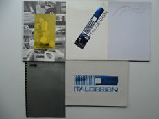 1974 - 1999 - ITAL DESIGN & Giorgetto GIUGIARO - Mixed lot of 5 Press / Media information kits & Corporate brochures