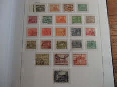 Berlin 1948/1989 - Extensive and broad collection in Davo album