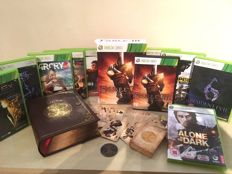 FABLE 3 Collectors Edition Xbox 360 Boxset + 9 Massive Xbox Games inc Resident Evil 6 - FARCRY 3 - Darkness & Lots More