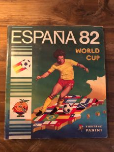 Panini - World cup 82 Spain - Complete album.
