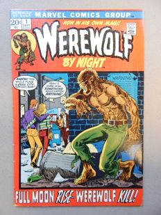 Marvel Comics - Werewolf by Night #1 - 1x sc - (1972)