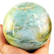 "Very Fine Green Aventurine ""healing ball"" - 108 mm - 1711 gm"