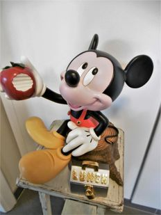 Disney, Walt - Statue - Mickey Mouse the construction worker - 4.5 kg. - c. 1990