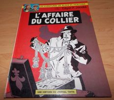 Blake et Mortimer T9 - L'Affaire du Collier - C - EO (1967)