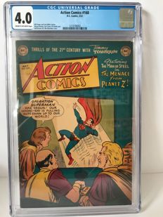 DC Action Comics - #168 CGC Graded 4.0 - (5/1952)