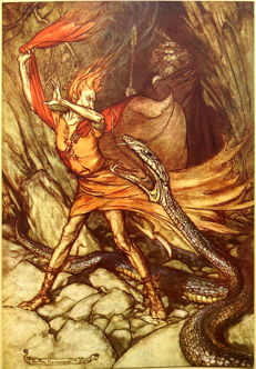 Richard Wagner - The Rhinegold & The Valkyrie - 1920