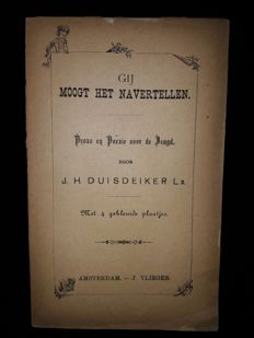 J. Vlieger; Lot with 11 Dutch picture books - 1814/1935