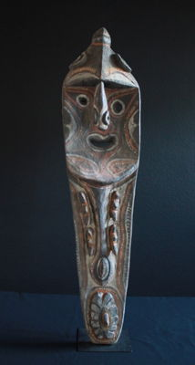 Large, Top-Class Mindja Sculpture of the KWOMA People from the Washkuk Region of Upper Sepik